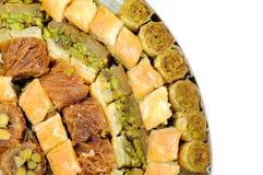 Libanesiska sötsaker Arkivfoton