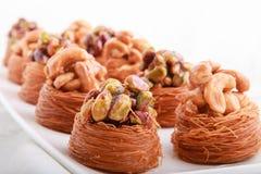 Libanesiska sötsaker Arkivbild