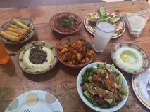 Libanon Beiroet zoals voedsel 🥘 ochtend stock foto