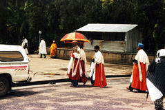 Libanos priests Royalty Free Stock Photo