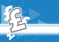 Libbra del fondo dei soldi Royalty Illustrazione gratis