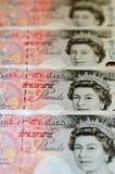 Libbre di nota - £200 Immagini Stock