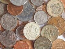Libbre e penny Immagini Stock
