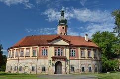 Libechov castle. Baroque Libechov castle near Melnik - Czech Republic Stock Images