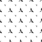 Libelle nahtlos Stockfotografie