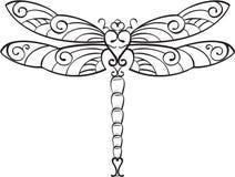 Libellule illustration stock