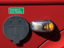 Liberação da porta de emergência Fotografia de Stock Royalty Free
