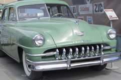 Liberação retro de DeSoto 1951 do carro Fotos de Stock Royalty Free