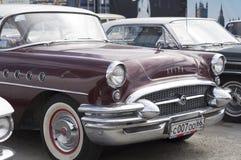 Liberação retro do século 1955 de Buick do carro Imagem de Stock