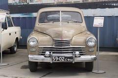 Liberação retro soviética do carro GAZ M20 Pobeda 1956 Fotografia de Stock