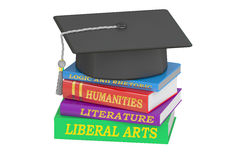 Liberal Arts Education, 3D rendering Royalty Free Stock Photography
