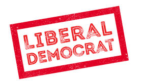 Liberal Democrat rubber stamp Stock Images