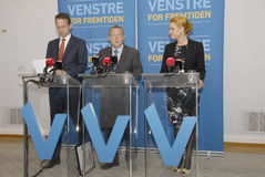 LIBERAL PARTY JOINT PRESS CONFERENCE Royalty Free Stock Photos