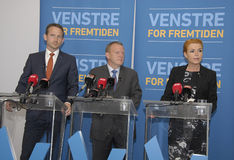 LIBERAL PARTY JOINT PRESS CONFERENCE Royalty Free Stock Photography