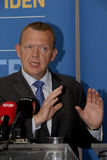 LIBERAL PARTY JOINT PRESS CONFERENCE Stock Photo
