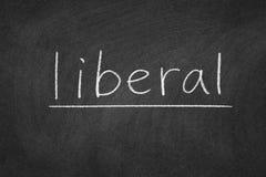 liberale fotografia stock
