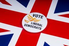 Liberale Democraten Politieke Partij in het UK stock fotografie