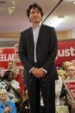 Liberale Partijleider Justin Trudeau royalty-vrije stock foto