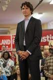 Liberale Partijleider Justin Trudeau royalty-vrije stock foto's