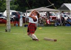 Liberando o martelo Foto de Stock Royalty Free