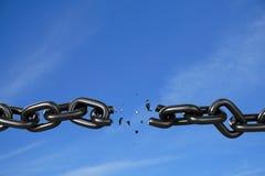 Liberarsi - il cielo è la versione di limite Fotografie Stock Libere da Diritti
