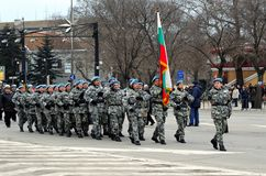 Liberation Day celebrations on March 3 Stock Image