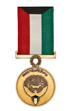 Liberation of Kuwait Medal Stock Photo