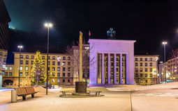Liberation Monument in front of Landhaus in Innsbruck Royalty Free Stock Photos