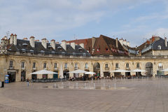 The Liberation Square in Dijon, France. Royalty Free Stock Photo