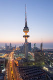 The Liberation Tower in Kuwait City Royalty Free Stock Photo