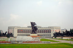 Liberation War Museum, Pyongyang, North-Korea Stock Images