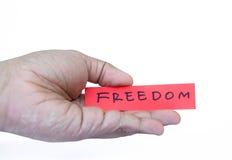 liberdade à disposição Fotografia de Stock