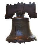 Liberdade Bell isolada Fotos de Stock Royalty Free