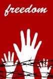 Liberdade da prisão ilustração royalty free