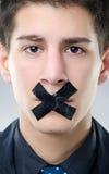 Liberdade de expressão Imagens de Stock Royalty Free
