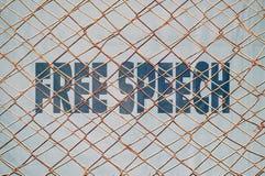 Liberdade de expressão Foto de Stock Royalty Free