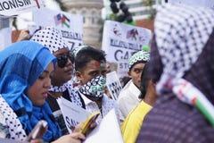 Liberdade de GAZA foto de stock