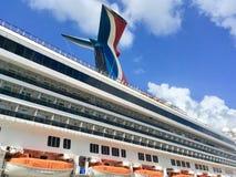 Liberdade do carnaval do navio do ` s da linha de cruzeiros do carnaval Imagens de Stock Royalty Free
