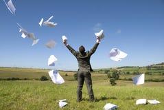 Liberdade do negócio! fotografia de stock royalty free