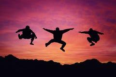 Liberdade do por do sol Fotografia de Stock