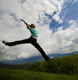 Liberdade e felicidade Imagem de Stock Royalty Free