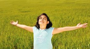 Liberdade humana, felicidade Imagens de Stock