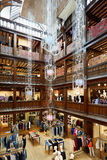 Liberdade, interior luxuoso do armazém em Londres Imagens de Stock