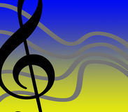 Liberdade musical Imagens de Stock Royalty Free