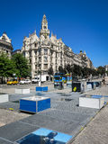 Liberdade Square, Porto Royalty Free Stock Photo
