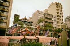 Liberdade Uliczny sąsiedztwo, Sao Paulo, Brazylia: Sąsiedztwo najwięcej Japońskich imigrantów przyjeżdżali w Brazylia il zdjęcia stock