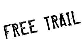 Libere el sello de goma del rastro Foto de archivo libre de regalías