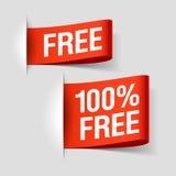 Libere las escrituras de la etiqueta Imagen de archivo libre de regalías