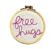 Libere los abrazos Imágenes de archivo libres de regalías