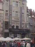 Liberec Babilon centrum Arkivbild